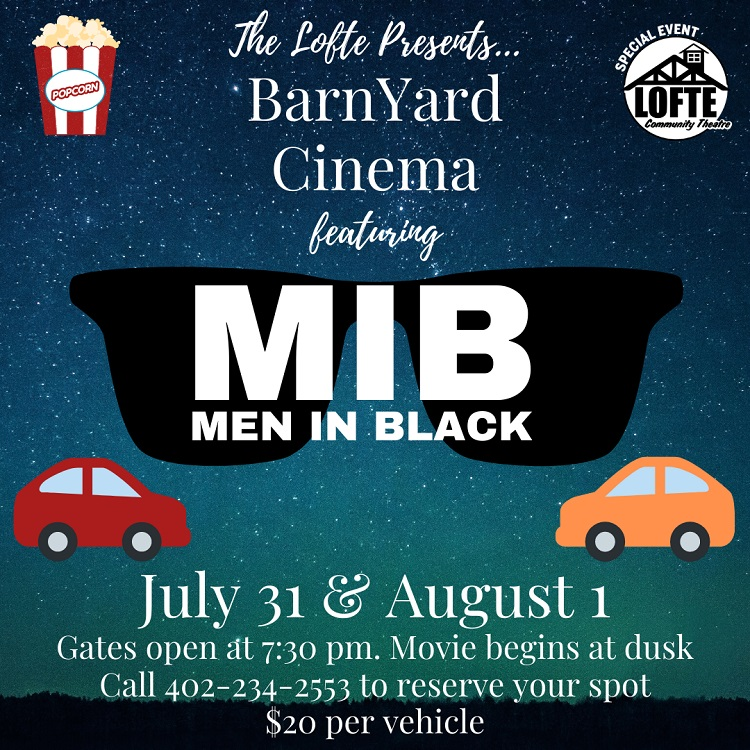 BarnYard Cinema Men in Black