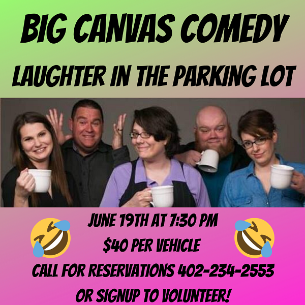 Big Canvas Comedy