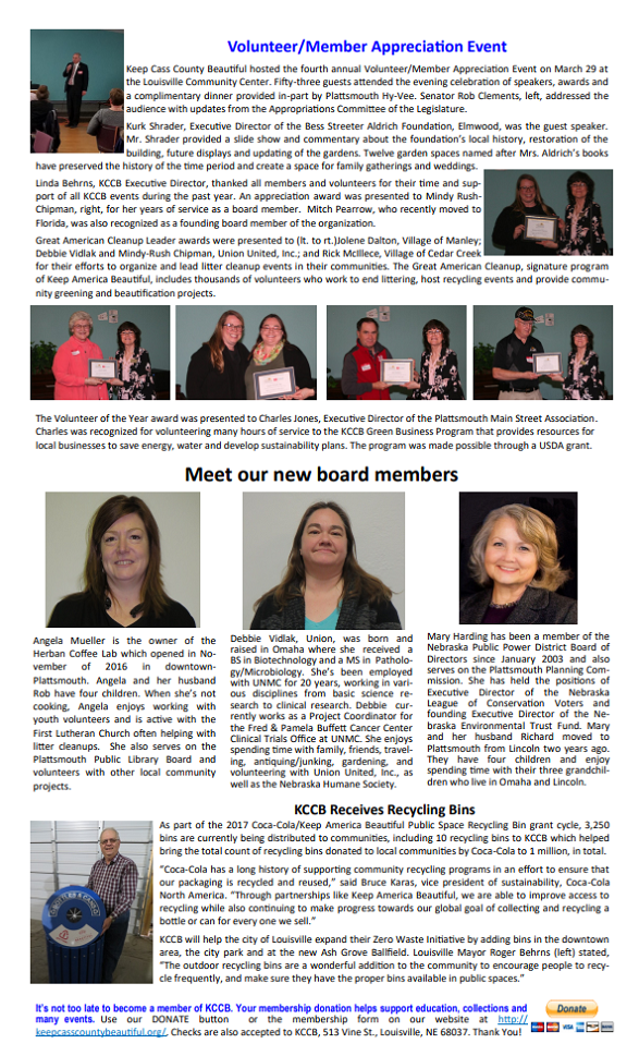 KCCB Newsletter pg2