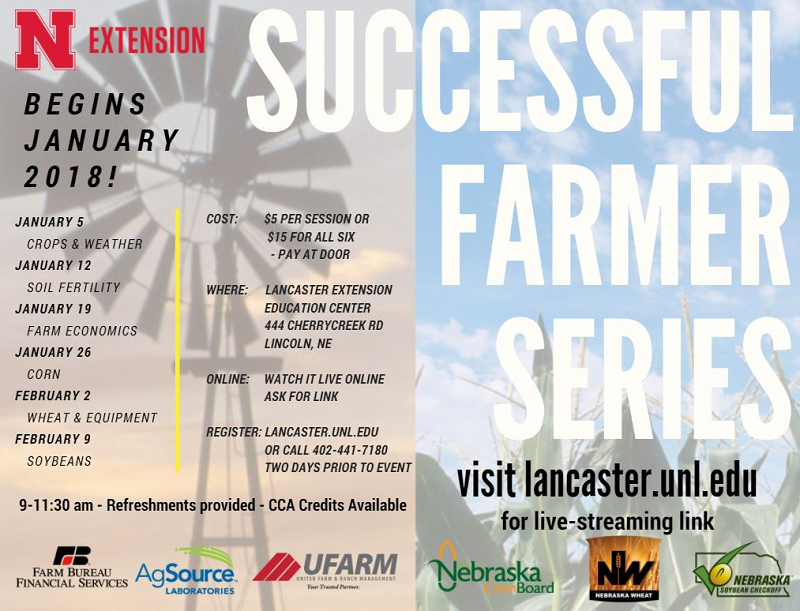 Successful Farmer Series in Jan Feb 2018