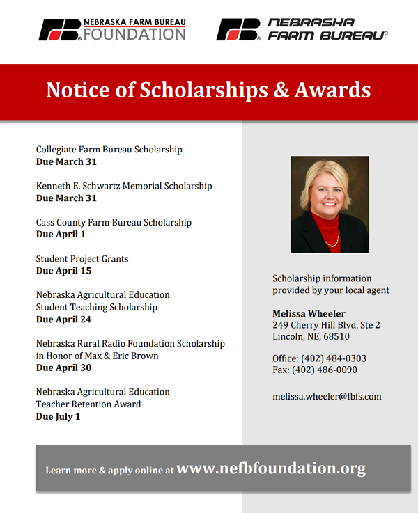 Farm Bureau Scholarships