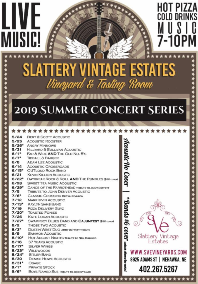Slattery Vintage Estates Summer Series