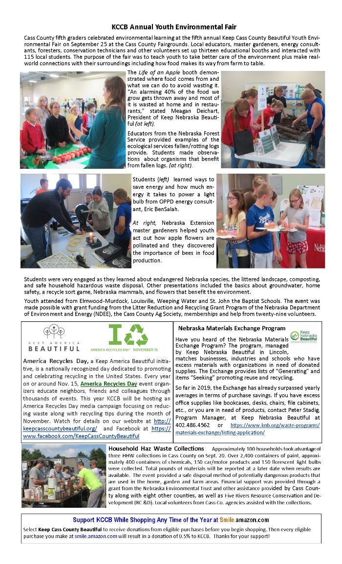 2019 fall Newsletter pg2 KCC