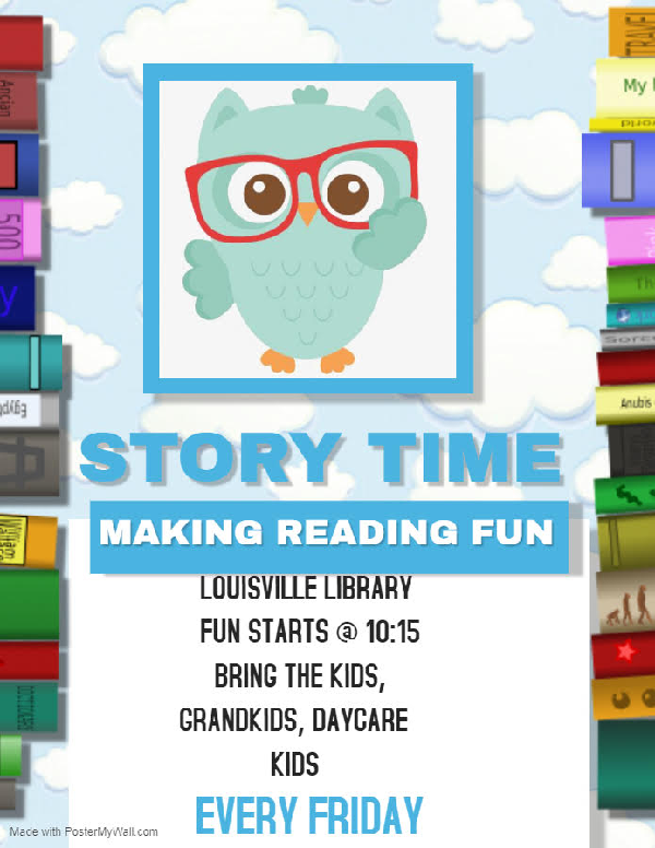 Louisville Library Story Time